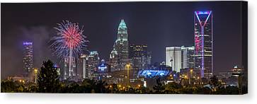 Charlotte Celebration Canvas Print by Brian Young