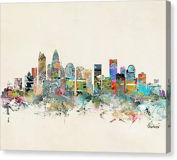 Charlotte City Canvas Print by Bri B