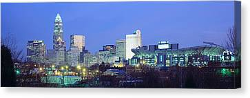 Charlotte Nc Canvas Print by Panoramic Images
