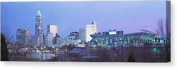 Charlotte North Carolina Usa Canvas Print by Panoramic Images