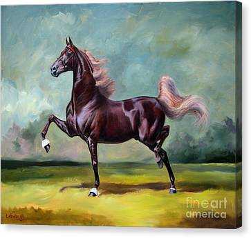 Charmed And Bewitched Canvas Print by Jeanne Newton Schoborg