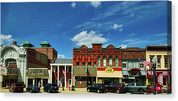 Charming Baraboo Wisconsin Canvas Print by Mountain Dreams