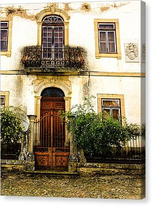 Canvas Print featuring the photograph Charming House In Portugal by Marion McCristall