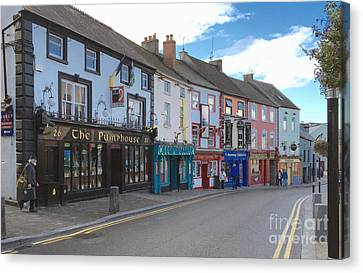 Charming Killkenney Street Canvas Print