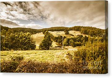 Charming Outback Country Setting Canvas Print by Jorgo Photography - Wall Art Gallery