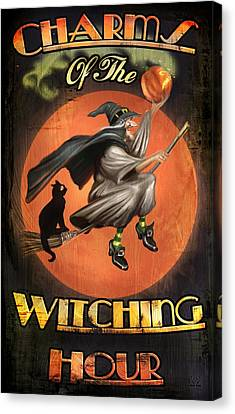 Charms Of The Witching Hour Canvas Print by Joel Payne