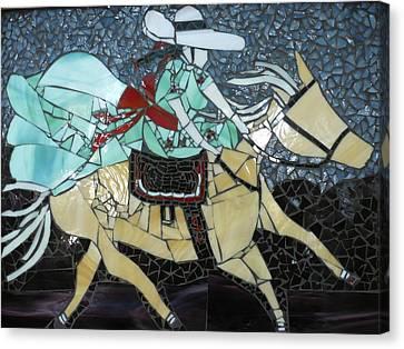 Charra Canvas Print by Ann Salas