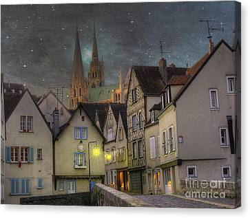 Chartres France Canvas Print by Juli Scalzi