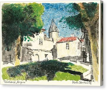Chartreuse Avignon Canvas Print