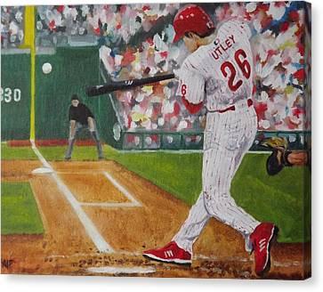 Chase Canvas Print by Al Fonollosa