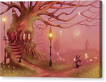 Chasing Fairies Canvas Print