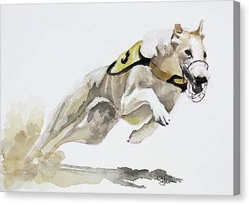 Chasing Rusty Canvas Print