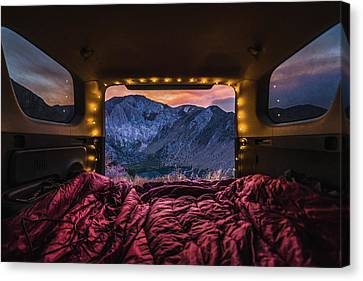 Chasing Sunset Canvas Print