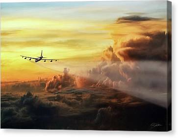 Operation Iraqi Freedom Canvas Print - Chasing Twilight by Peter Chilelli