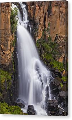 Canvas Print featuring the photograph Chasing Waterfalls by Tim Reaves