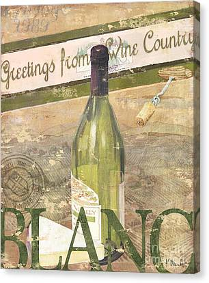 Chateau Chardonnay Canvas Print by Paul Brent