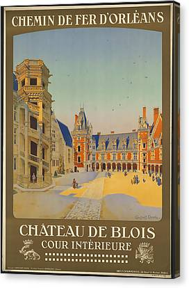 Chateau De Blois Canvas Print by David Wagner