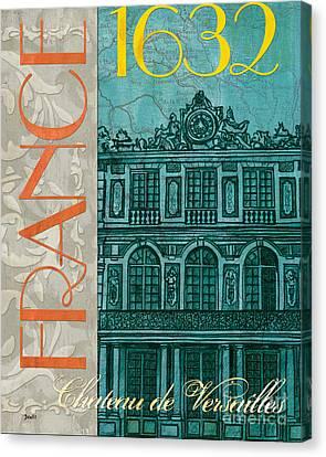 Chateau De Versailles Canvas Print by Debbie DeWitt