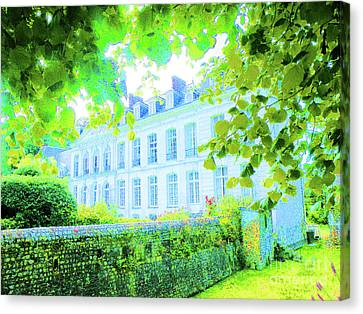 Chateau Filieres Canvas Print by Ann Johndro-Collins