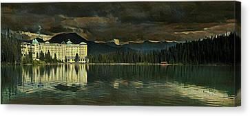 Chateau Lake Louise Canvas Print