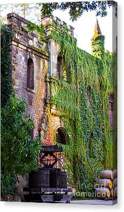 Chateau Montelena Canvas Print by Leslie Wells