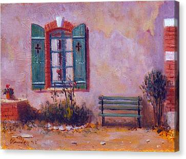 Chateau Pioget  Loire Valley France Canvas Print by David Olander