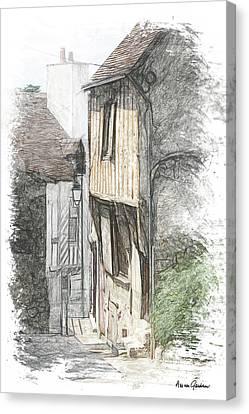 Chateaudun Canvas Print by Arie Van Garderen