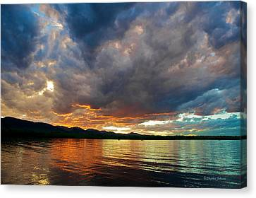 Chatfield Technicolor Sunset Canvas Print