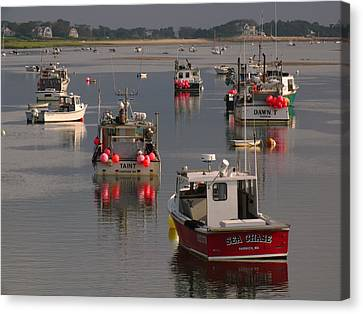 Chatham Harbor Canvas Print by Juergen Roth