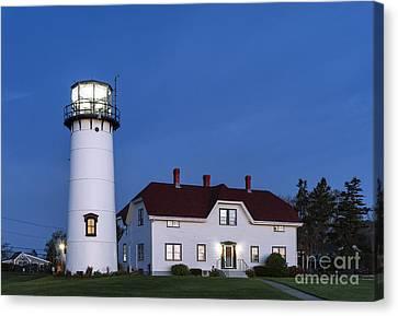 Chatham Lighthouse Night Canvas Print