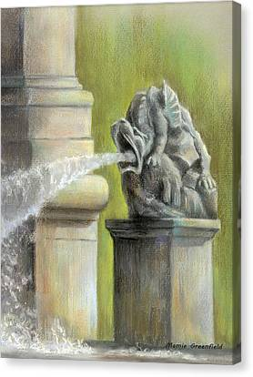 Chatsworth Gargoyle Canvas Print