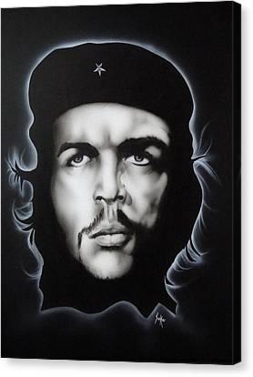 Che Guevara Canvas Print by Stephen Sookoo
