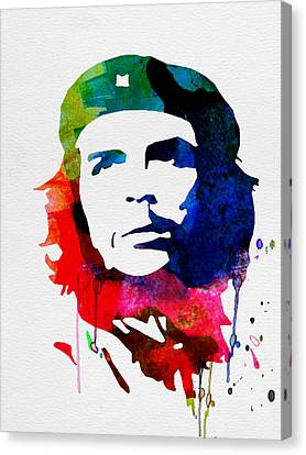 Che Guevara Watercolor 2 Canvas Print