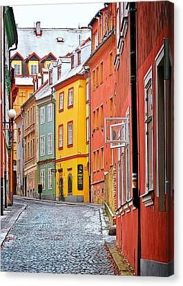 Czech Republic Canvas Print - Cheb An Old-world-charm Czech Republic Town by Christine Till