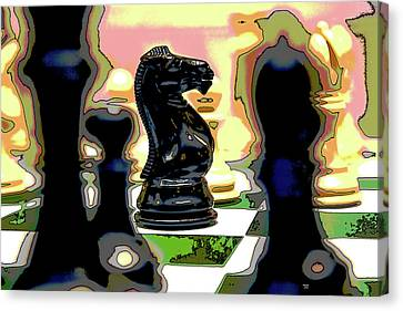 Checkmate Canvas Print by Charles Shoup