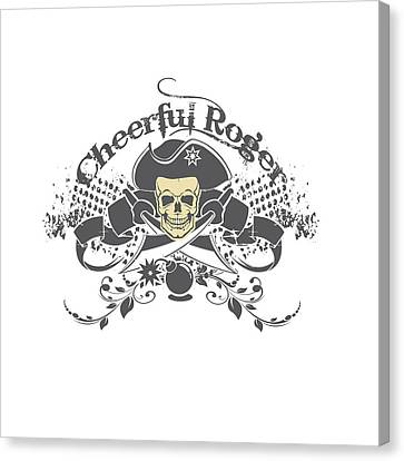 Cheerful Rodger Canvas Print
