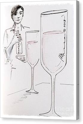 Cheers Canvas Print by Barbara Chase