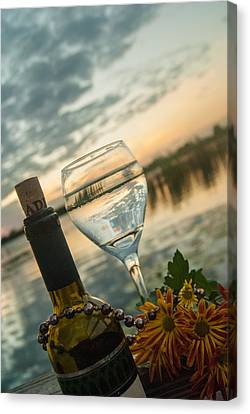Cheers Canvas Print by Pamela Williams
