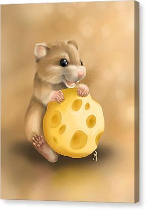 Cheese Canvas Print