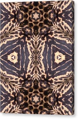 Cheetah Print Canvas Print by Maria Watt