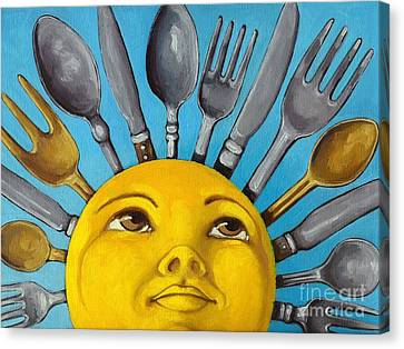 Chefs Delight - Cbs Sunday Morning Sun Art  Canvas Print