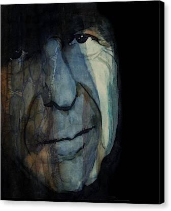 Songwriter Canvas Print - Chelsea Hotel - Leonard Cohen  by Paul Lovering