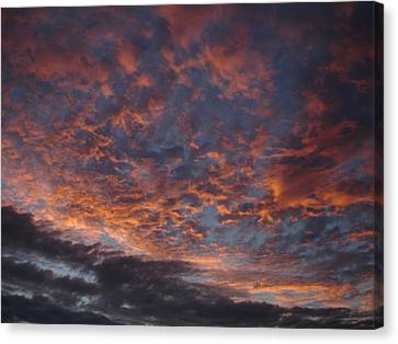 Chemical Sky Canvas Print by Chad Natti