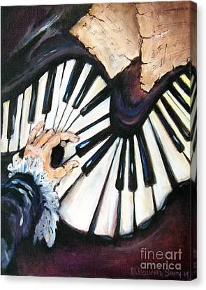 Cherished Music Canvas Print