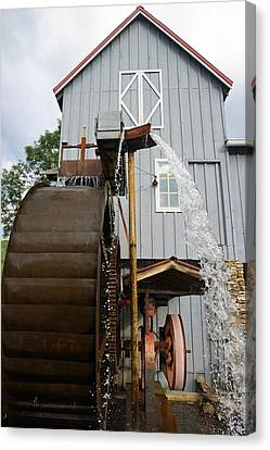 Cherokee Mill Canvas Print by Laurie Perry