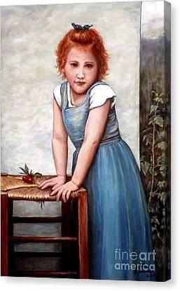 Cherries Canvas Print by Judy Kirouac