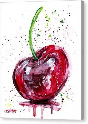 Cherry 2 Canvas Print by Arleana Holtzmann