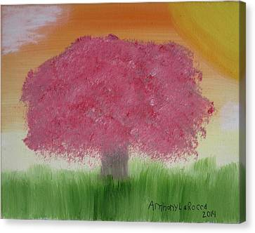 Cherry Blossom Canvas Print by Artists With Autism Inc