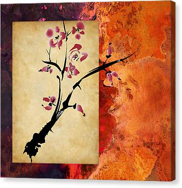 Cherry Blossom Canvas Print by Rob Tullis