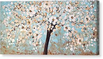 Cherry Blossoms Canvas Print by Jolina Anthony